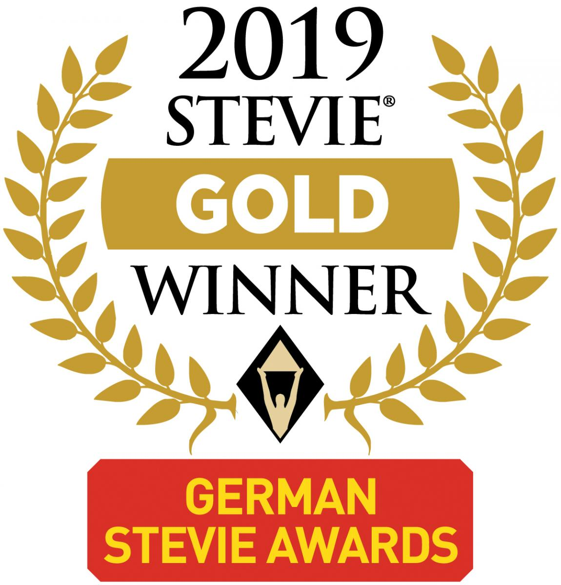 Stevie Award Gold